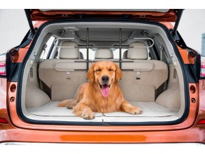 Dog Tubular Barrier SUV Heavy Duty Easy Installation Fully Adjustable for All Vehicles Ideal for Cats and Dogs