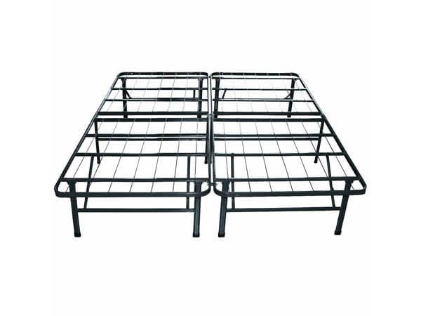 classic brands hercules platform heavy duty metal bed framemattress foundation king size