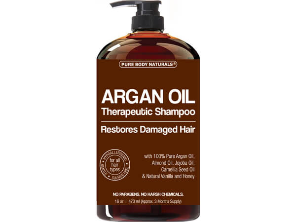 Shampoo Restores Damaged Hair