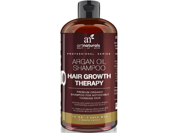 Organic Argan Oil Hair Loss Shampoo