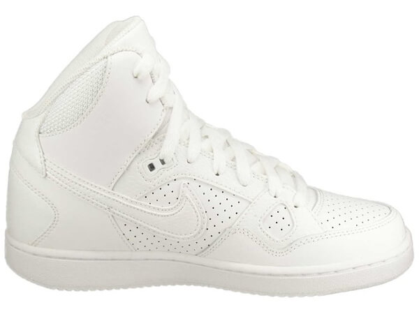 Women's Son Of the Force Mid Top Basketball Shoe-White