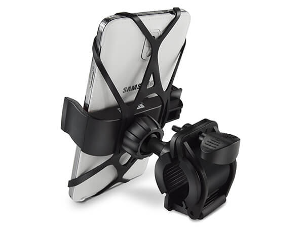 Bike Mount/Ipow Universal Cell Phone Bicycle Handlebar and Motorcycle Holder Cradle (Black)