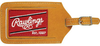 Rawlings Heart of the Hide Luggage Tag [Tan]