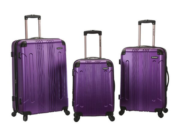 Rockland Luggage 3 Piece Sonic Upright Set