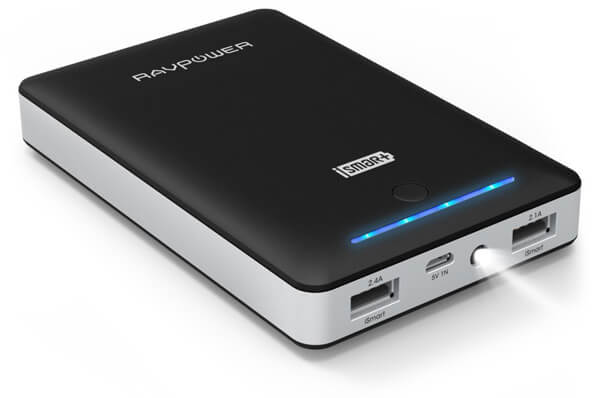 Portable Dual USB Output External Battery Power Bank