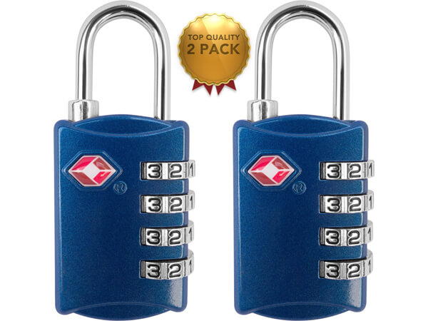 4 Digit Combination TSA Luggage Locks