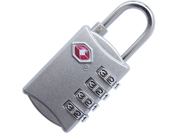 Four Digit Combination TSA Approved Luggage Lock