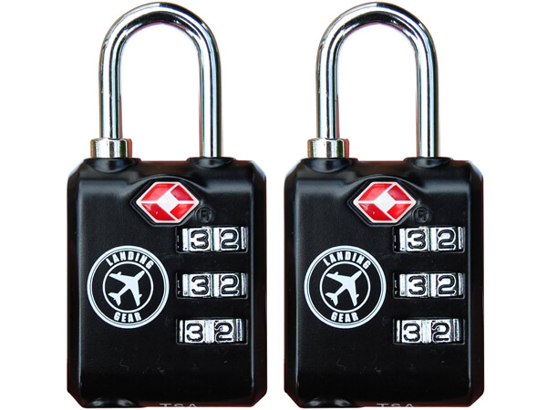 TSA Lock Heavy Duty Three Digit Combination