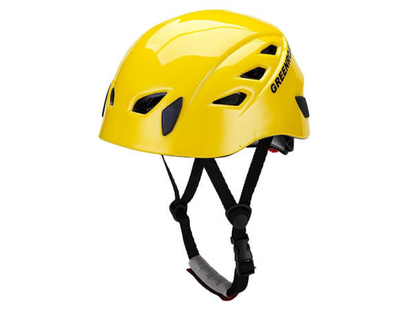 GREENROAD In-Mold Adjustable Unisex Mountain Climbing Helmet Rock Climbing Helmet YELLOW