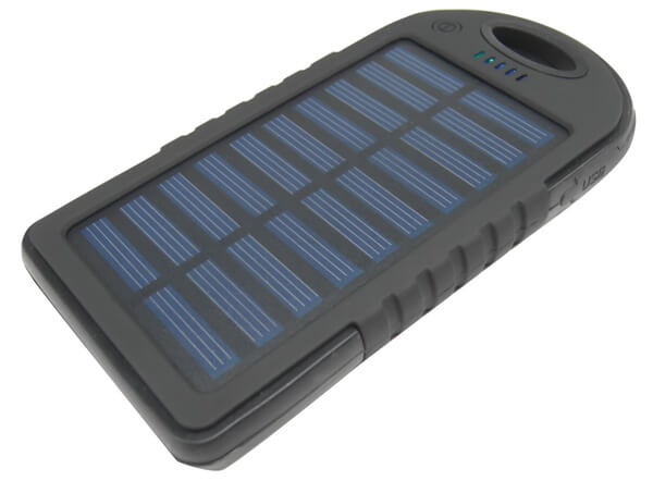 Power Bank Dual USB Solar Panel Charger 4000mAh
