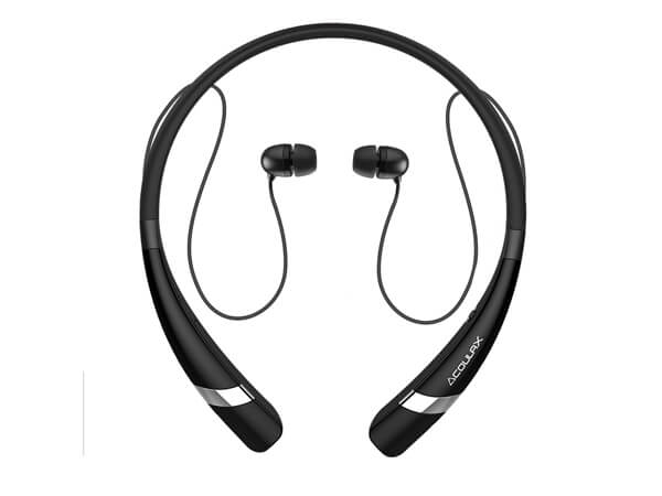 Headset Wireless Sweatproof Bluetooth COULAX headphones
