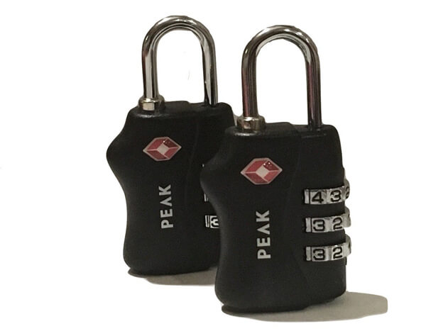 PEAK Gear Heavy Duty TSA Lock