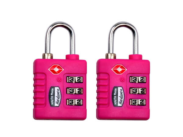 Resettable TSA Approved Luggage Lock