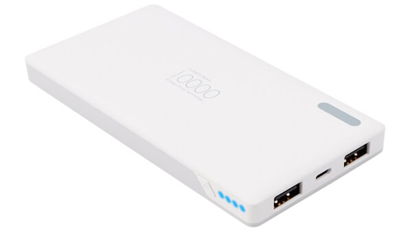 Power Bank 10000mAh Lightweight Battery