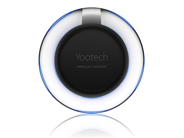 The Wireless Charger, Yootech Wireless Charger QI Wireless Charging Pad [breathing LED] for Galaxy S7,Galaxy S7 edge, Galaxy S6,Note 5 ,S6 Edge+,S6 Edge, Nexus 4/5/6 and All Qi-Enabled Devices
