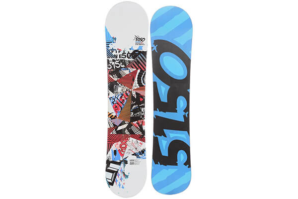 5150 Brand Shooter Snowboard 138 Youth