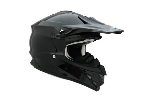 Scorpion Snow Ready VX-34 Winter Sport Racing Snowmobile Helmet - Gloss Black
