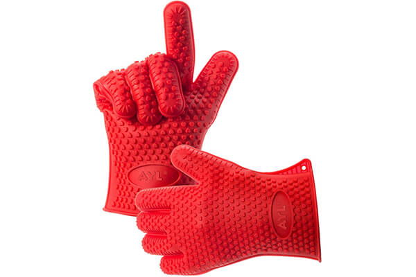 Heat Resistant Grilling BBQ Gloves