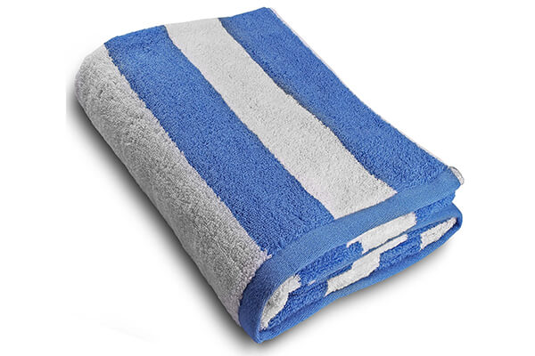 Large Beach-Towel in Cabana Stripe