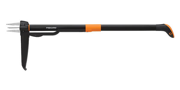 Fiskars Deluxe Stand-up Weeder (4-claw)