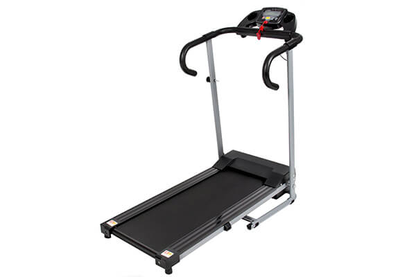 Black 500W Portable Motorized Treadmill Running Machine