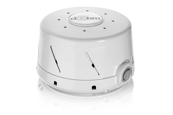 Marpac Dohm-DS Dual Speed All-Natural White Noise Sound Machine, Actual Fan Inside, White