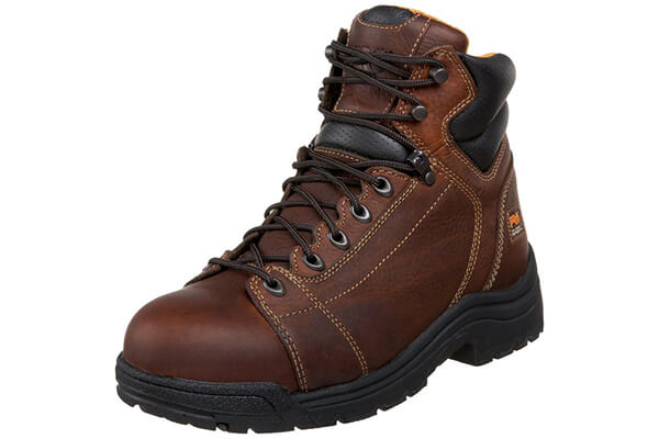 "Timberland Pro Men's Titan 6"" Lace-to-Toe Safety Toe Boot"