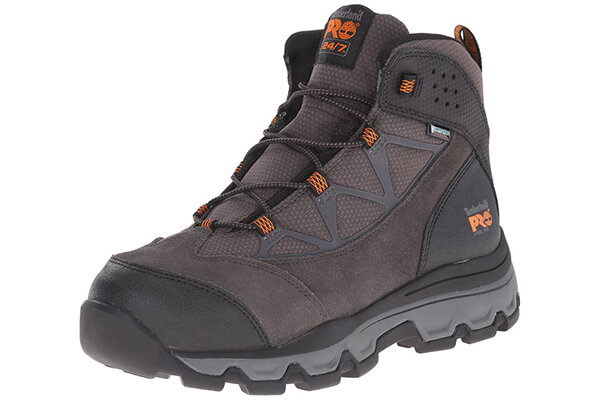 Timberland PRO Men's Rockscape Mid Steel-Toe Industrial Waterproof Hiking Boot