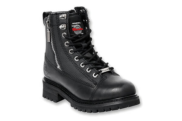 Milwaukee Motorcycle Clothing Company Accelerator Leather Men's Motorcycle Boots