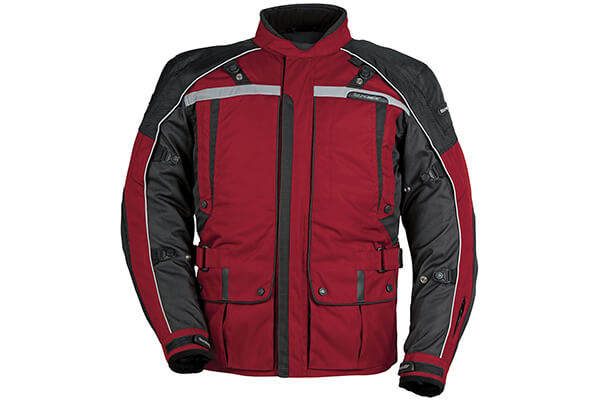 Men's 3/4 Outer Shell Textile Motorcycle Jacket