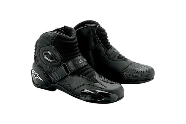 Alpinestars S-MX 1 Boots - 6 US / 39 Euro, Black