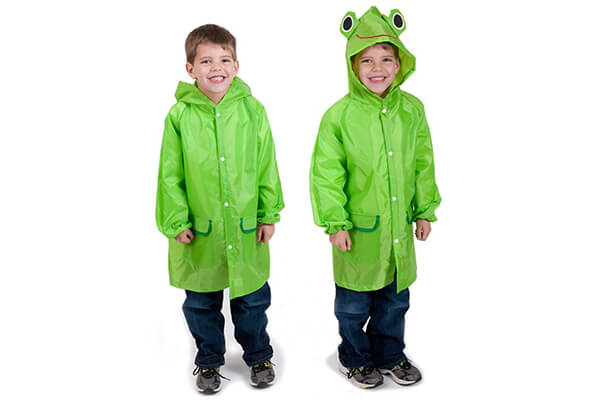 Cloudnine Children's Froggy Raincoat, for ages 5-12