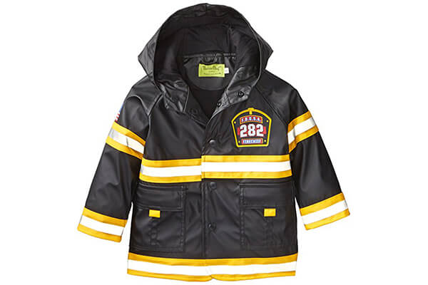 Western Chief Little Boys' F.D.U.S.A. Firechief Rain Coat