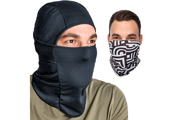 Balaclava Ski Mask Headwear Bundle