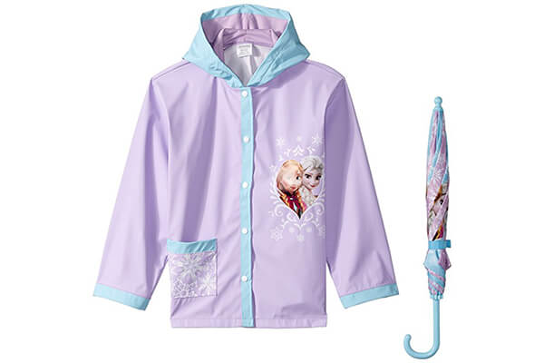 Disney Little Girls' Frozen Raincoat
