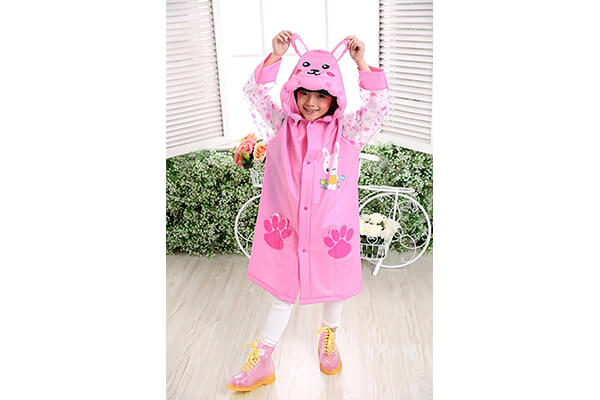 Aircee Waterproof Rain Coat Slicker for Kids