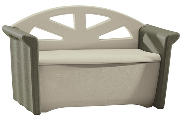 Rubbermaid Outdoor Patio Storage Bench