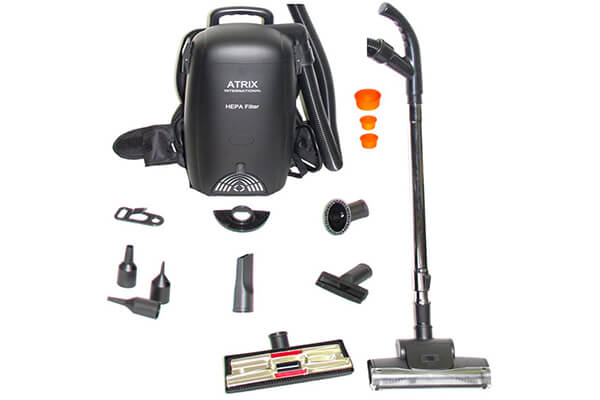 Atrix VACBP1 HEPA Backpack Vacuum