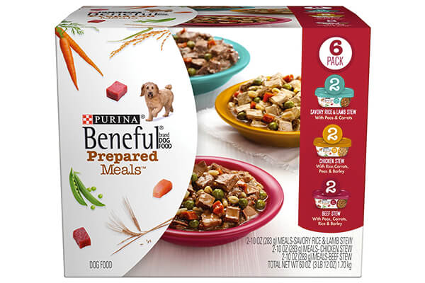 Purina Beneful Prepared Meals Stew Variety Pack Wet Dog Food