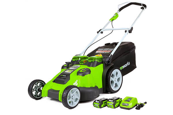 GreenWorks 25302 G-MAX 40V Twin Force
