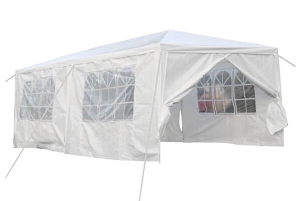 Qisan Canopy tent carport 10 by 20-feet