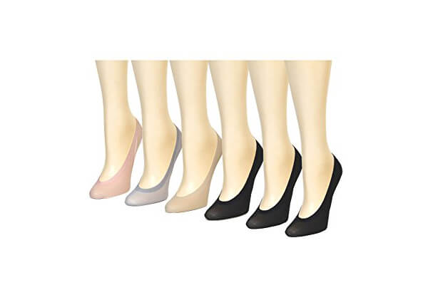 CFG ONLINE Women's Ultra Low-Cut, Silicone, No Slip Socks