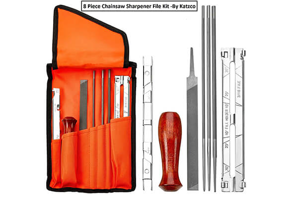 Chainsaw Sharpener File Kit