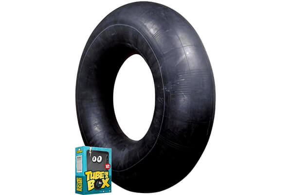 Tube in a Box, Original and Best Swim and Snow Inner Tube