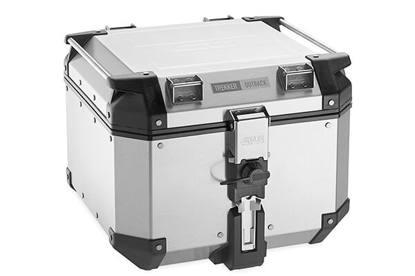 Givi OBK42A Outback Silver Top Case 42 Liter