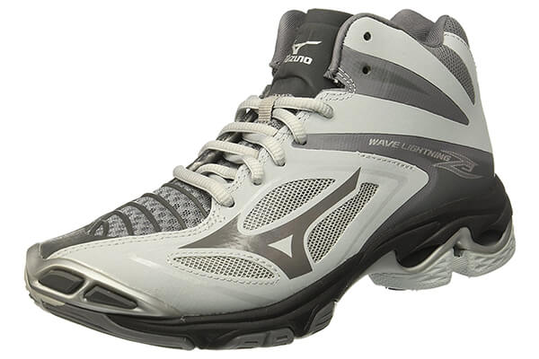 Mizuno Men's Wave Lightning Z3 Mid Volleyball-Shoes