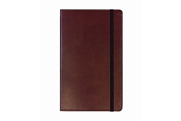 Markings by C.R. Gibson Brown Ruled Paper Bonded Leather Journal