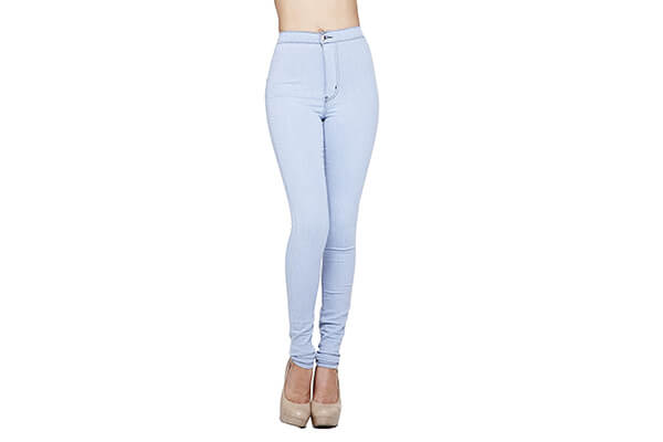 GOJANE Women's High-Waisted Ankle Length Jeans