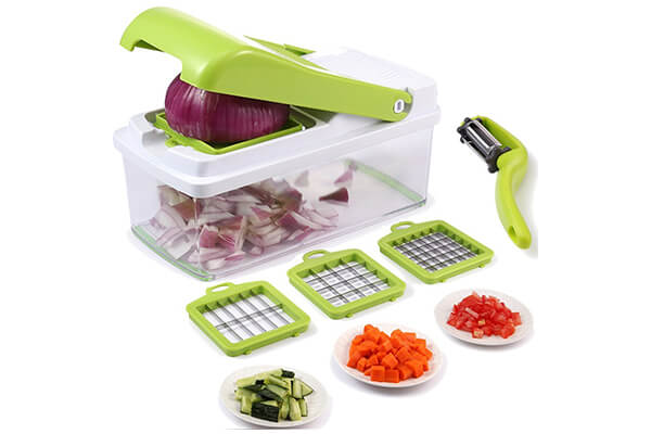 Vegetable Chopper, Mandoline Vegetable Fruit Dicer