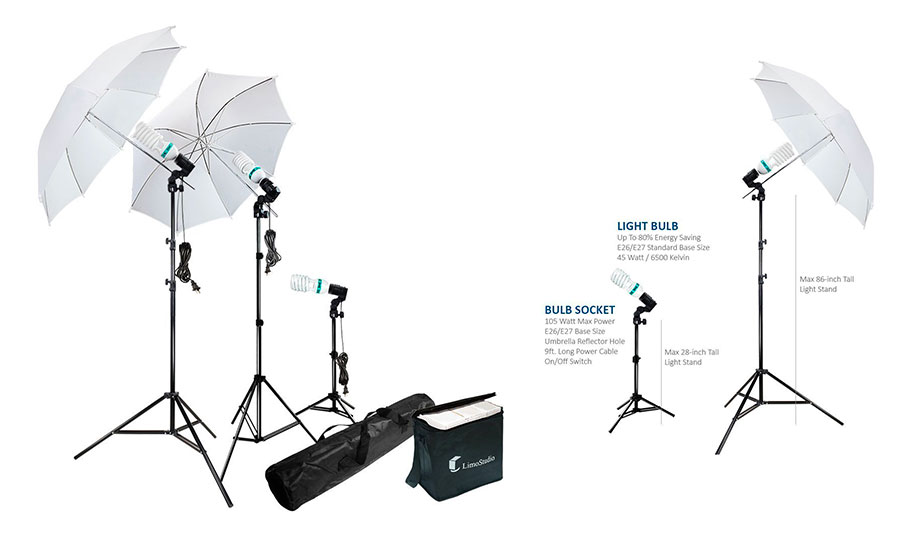 Top 10 Best Continuous Output Lighting for Video Shooting of 2021 Review